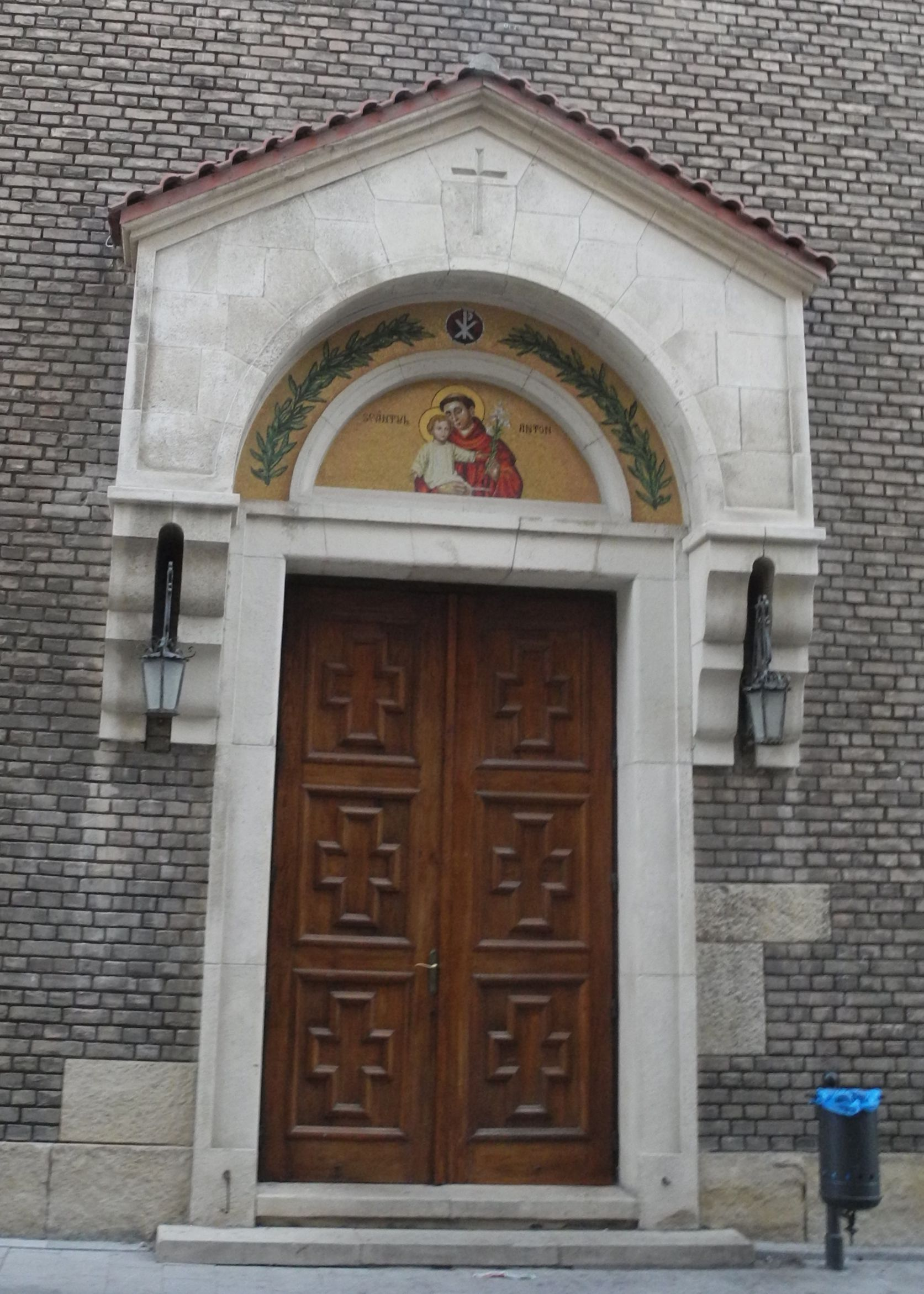 "Entrance-to-""St.-Anthony-of-Padua""-Roman-Catholic-Church"